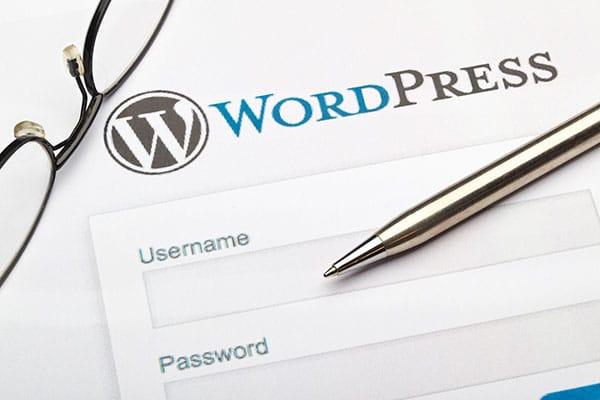 image of Wordpress brand and pen