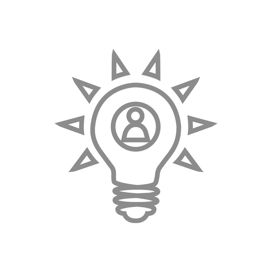 light bulb image for user experience for your website